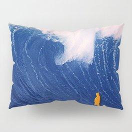 Blue Wave. Pillow Sham