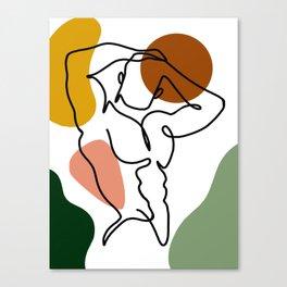 NOODDOOD Lines 4 Canvas Print