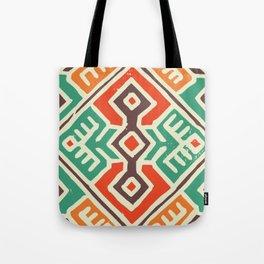 Ancient totem pattern Tote Bag