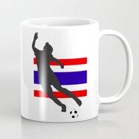 thailand Mugs featuring Thailand - WWC by Alrkeaton
