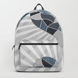 Heart . Patchwork .2 Backpack