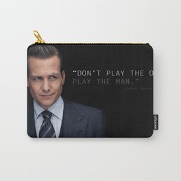 Harvey Specter - Play The Man Carry-All Pouch