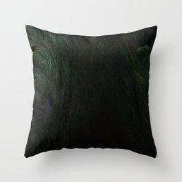 Deep Dark Throw Pillow