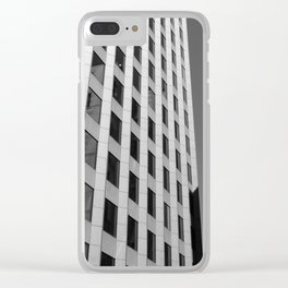 Bostonian Architecture Clear iPhone Case