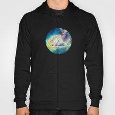 Awsome collosal deep space triangle art sign Hoody