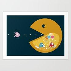 Indoor Games Art Print