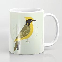 Helmeted Honeyeater, Bird of Australia Coffee Mug