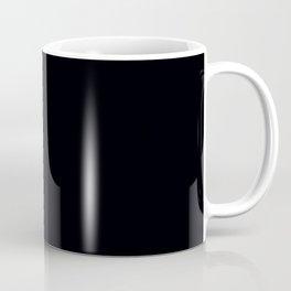 Plain Black Coffee Mug