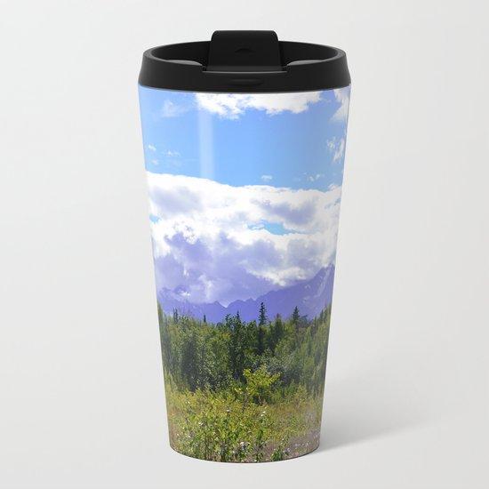 The Mountains Are Calling . . . II Metal Travel Mug