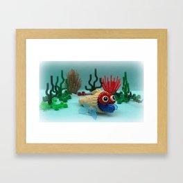 Marg Cone Fish Framed Art Print