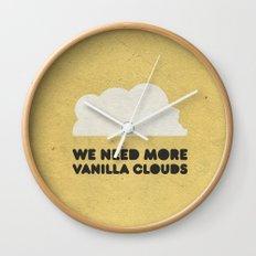 We need more vanilla clouds. Wall Clock