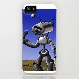 Mr Robo iPhone Case