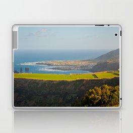 Azores coastal landscape Laptop & iPad Skin