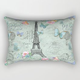 Paris - my love - France Eiffeltower Nostalgy - French Vintage Rectangular Pillow