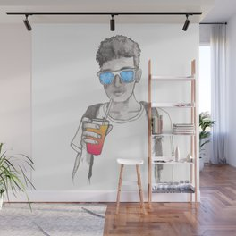 Summer boy Wall Mural