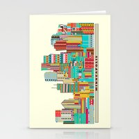 minneapolis Stationery Cards featuring Minneapolis city  by bri.buckley