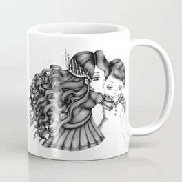 The Snow Queen of the Tagliatelle Shaped Hair Coffee Mug
