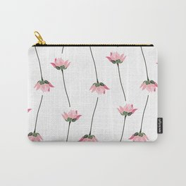 Lotos flower pattern Carry-All Pouch