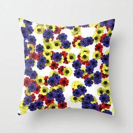 Freya Flower Fall--Home Decor Throw Pillow