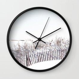 Rhode Island Winter 2015 Wall Clock