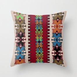 Kilim pattern 026 Throw Pillow