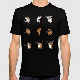 OLYMPIC LIFTING English Bulldog T-shirt