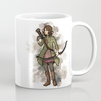 allison argent Mugs featuring Allison by callahaa