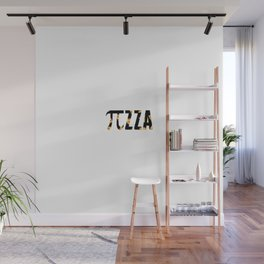 Pizza Funny Math Pun Pi Day Gift Math Science Lover Pi day Wall Mural