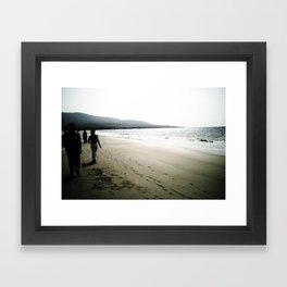 Huellas Framed Art Print
