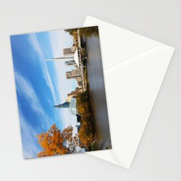 Downtown Winnipeg 2 Picture Panorama Stationery Cards