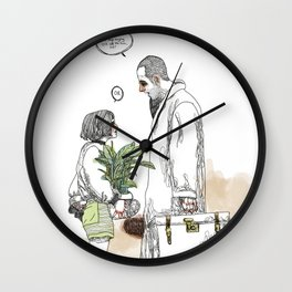 OK?! Wall Clock