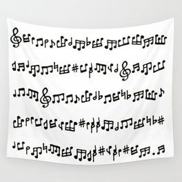 Noteworthy Wall Tapestry