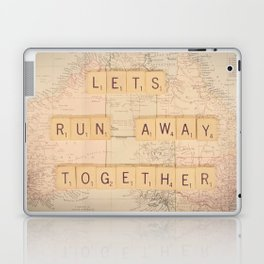 Lets Run Away Together Laptop & iPad Skin