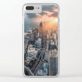 Hong Kong - Kowloon Bay Clear iPhone Case