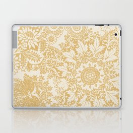 Floral in Yellow Laptop & iPad Skin