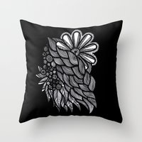 ornate Throw Pillows featuring Ornate  by Shivani C