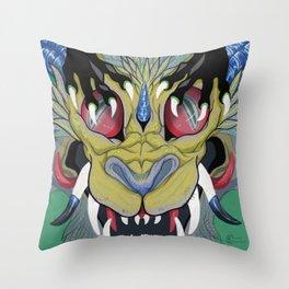Growl Throw Pillow