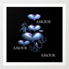 Love Love Love Art Print