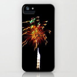 Ribbons Of Light iPhone Case