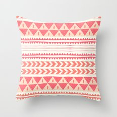 Winter Stripe II Throw Pillow