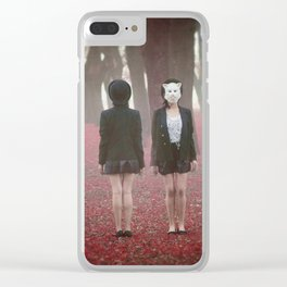 Dualidad Clear iPhone Case