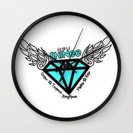 jonghyun logo Wall Clock