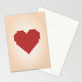 8bit Love Stationery Cards