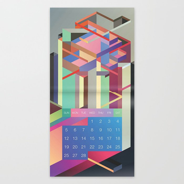 Society6 Artist Calendar 2017 Editions