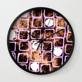 Nuclear Night Wall Clock