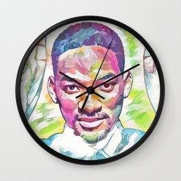 Will Smith (Creative Illustration Art) Wall Clock
