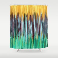 verse Shower Curtains featuring ::  Anniversary  :: by :: GaleStorm Artworks ::