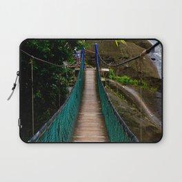 Swinging Bridge -Guam Laptop Sleeve