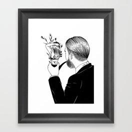 Man In Love Framed Art Print
