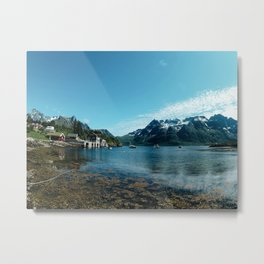 norwegian fjord Metal Print